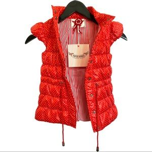 Paper Wings Puffer Vest 6 NWT